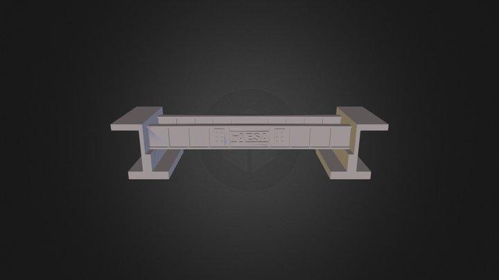 Puente Fixed 3D Model