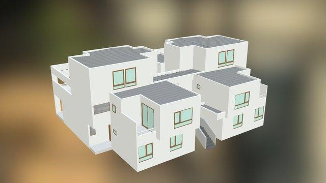Casa Tipo 3 3D Model