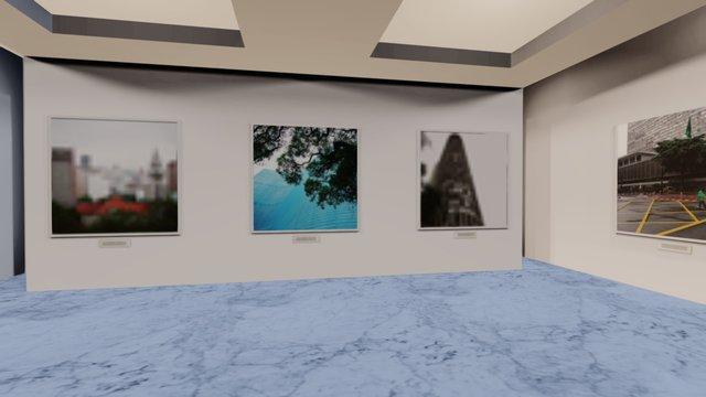Instamuseum for @andersomfelix 3D Model