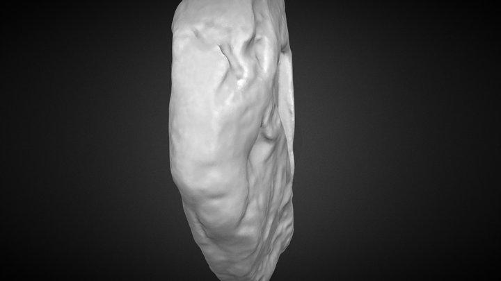 Bronze Age Flat Axehead Mould 3D Model