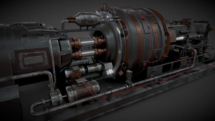 Industrial machine 3D Model