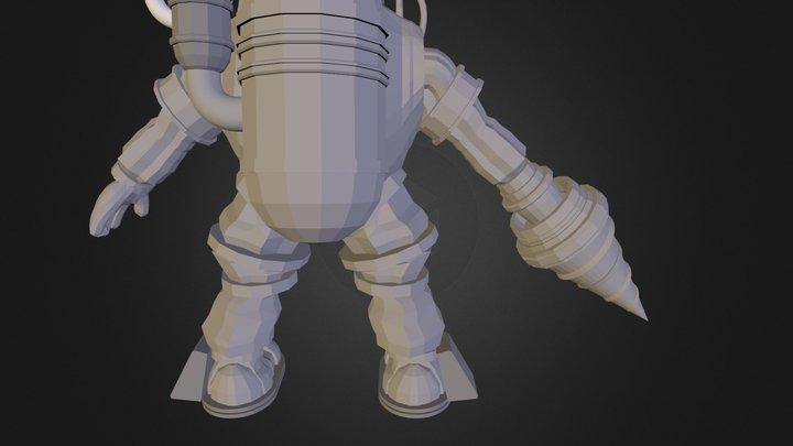 Bd Model 3D Model