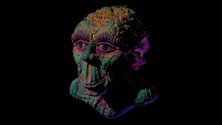 Mr Echse 3D Model