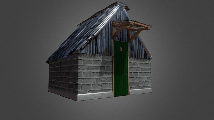 Solitary Torture Chamber - Mweru Detention Camp 3D Model