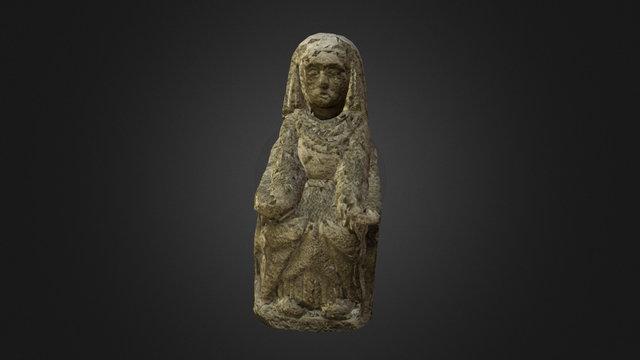 Dama Sedente 1 3D Model
