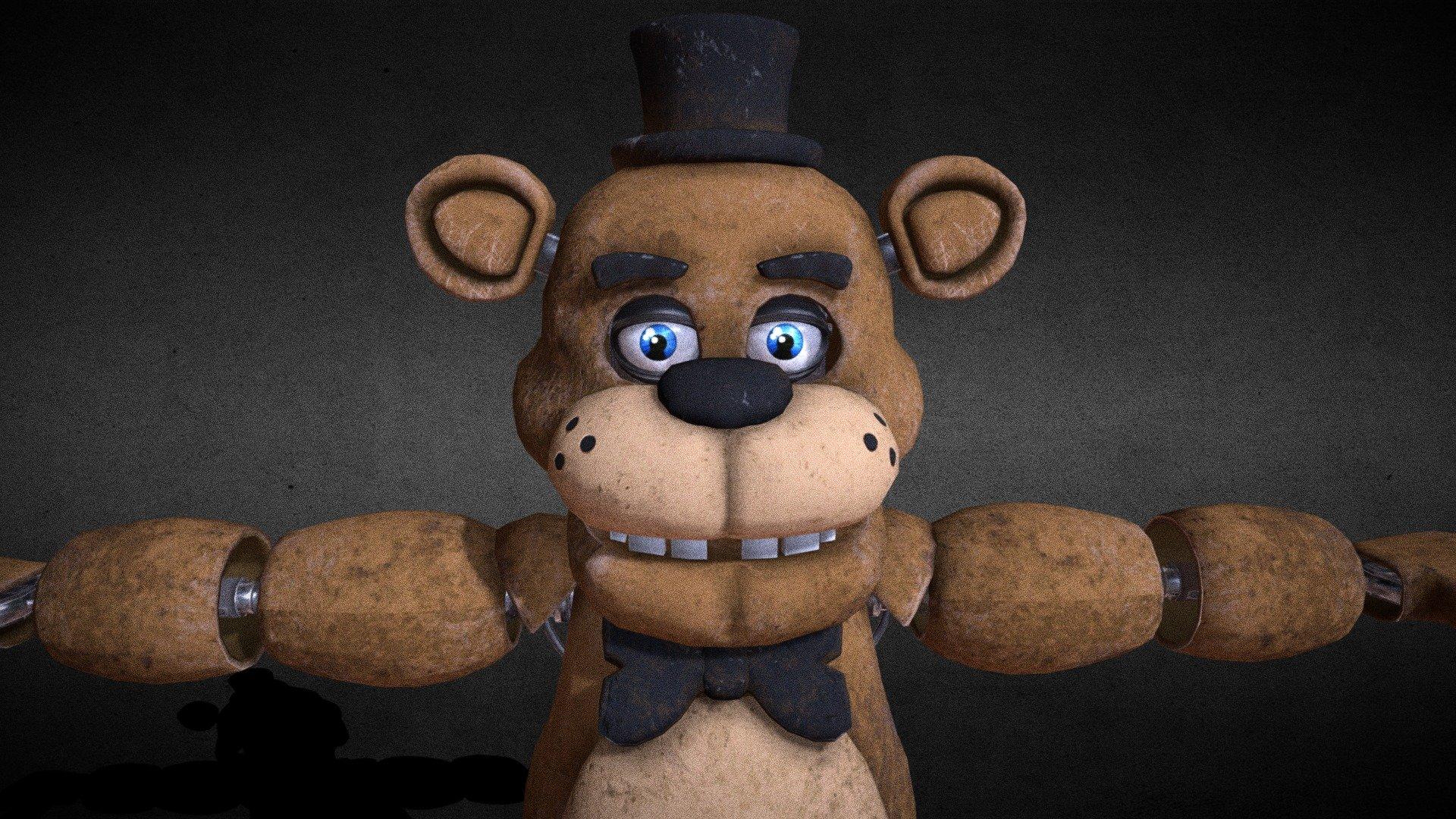 Freddy Fazbear from fnaf help wanted - Download Free 3D ...