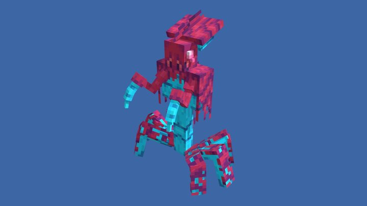 Minecraft Warper 3D Model