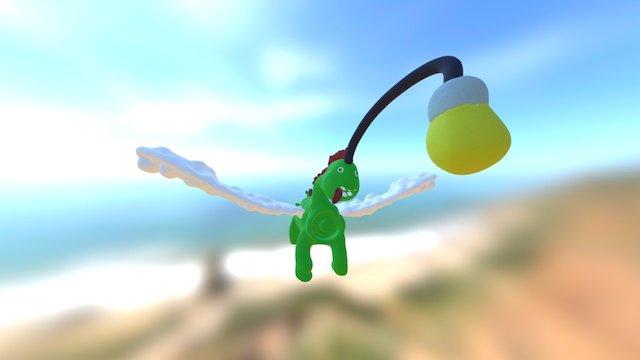 Dino 1 3D Model