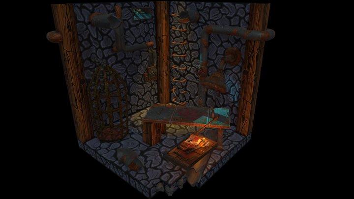 Torture Dungeon 3D Model