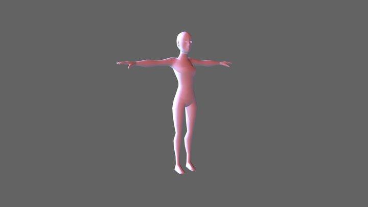 Woman. 3D Model