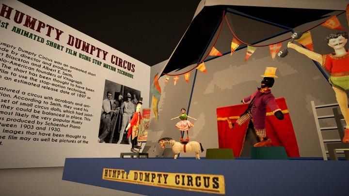 Humpty Dumpty Circus 3D Model