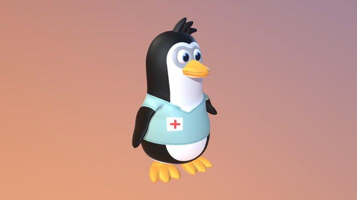 Penguin AR 3D Model