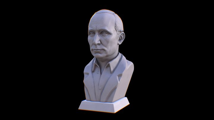 Putin 3D Model