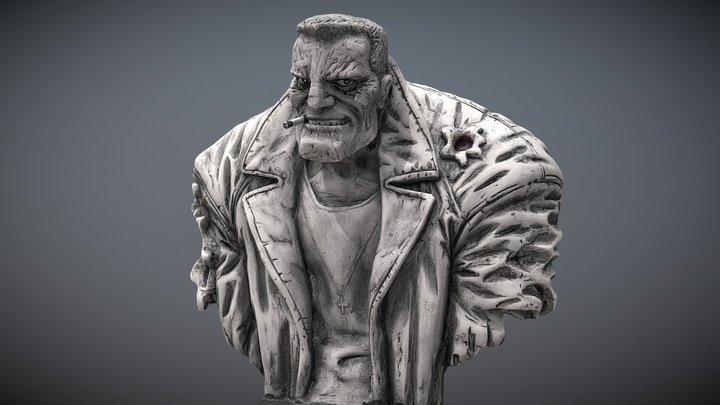 Sin City Marv 3D Model