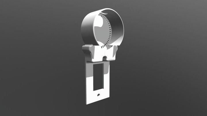 Amazon Echo Dot Outlet Mount 3D Model