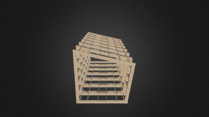 Wikihouse Skeleton 3D Model