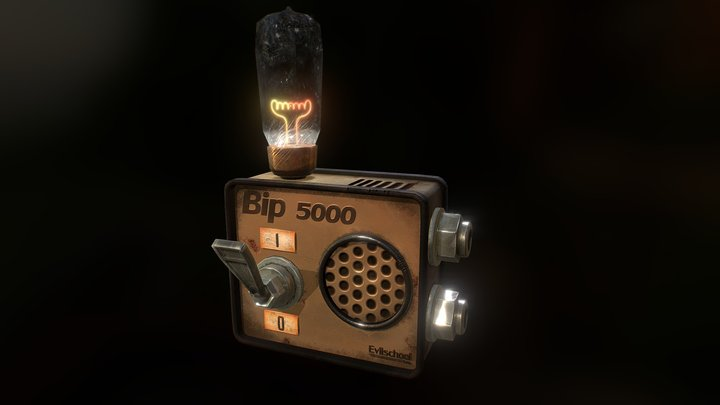 BIP 5000 , ghost detector 3D Model