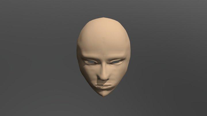 Face RETepog project 3D Model