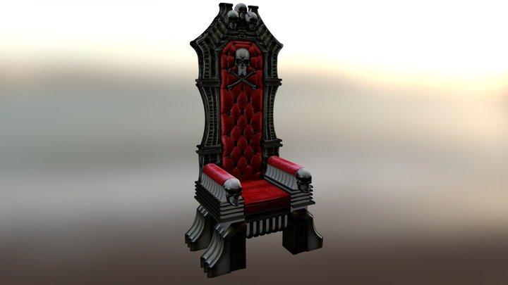 Arcadia Throne 3D Model