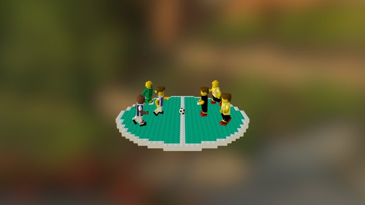 Pachuca Vs America 3D Model