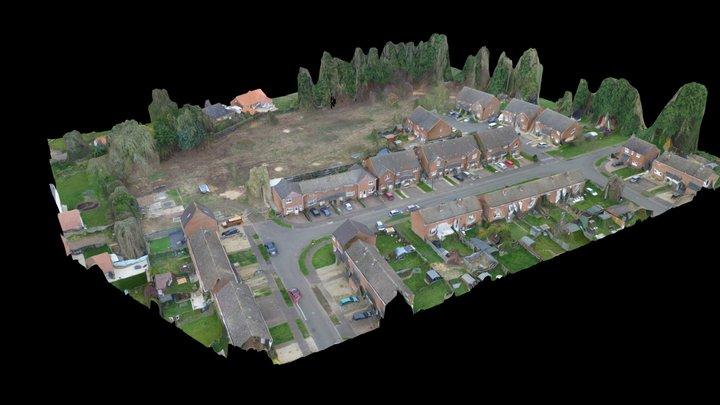 Land North Of Akrotiri Square, Watton 3D Model