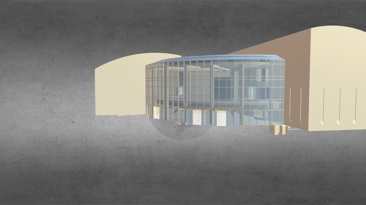 The Cable Center Building 3D Model