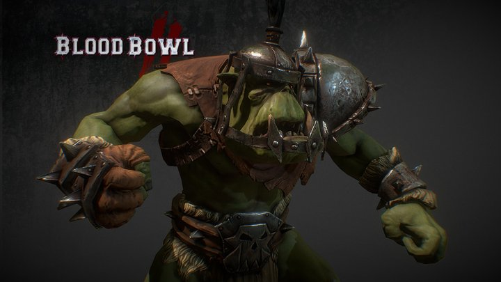 Orc Thrower 3D Model