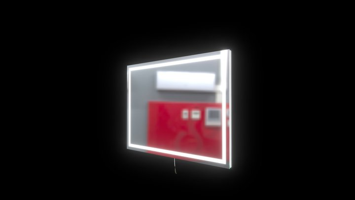 Harmony backlit 48x35 3D Model
