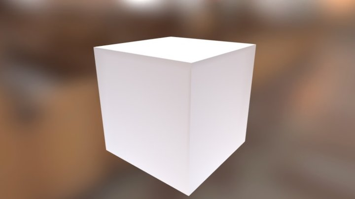Box Omnidirectional Lamp 3D Model