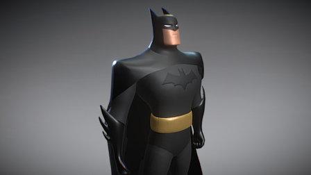 BATMAN 3D (serie animada) 3D Model