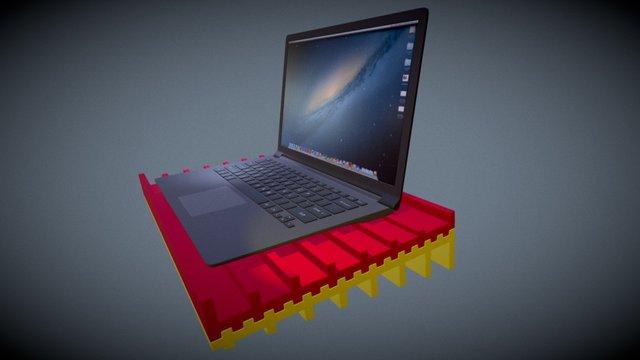 LapFresh 3D Model