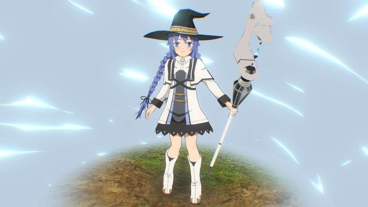 Roxy - Mushoku Tensei 3D Model
