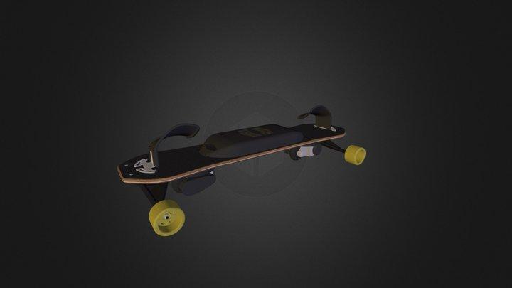Leif eSnowboard 3D Model