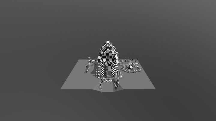 Witch House2 3D Model