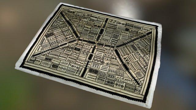 Textile mesh 3D Model