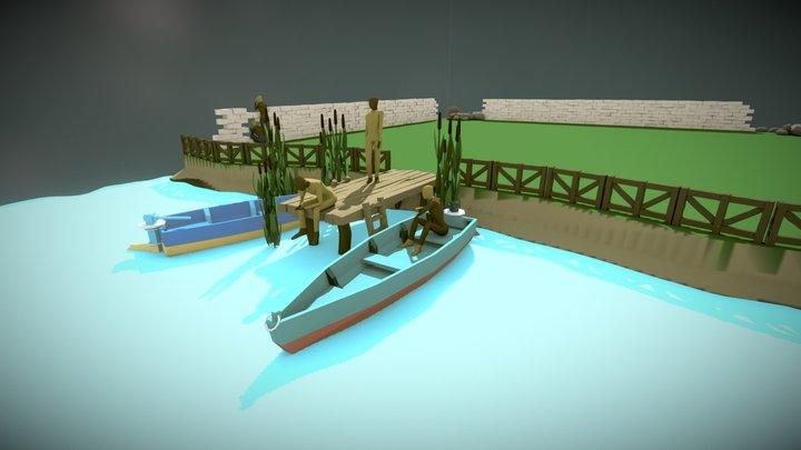 fishing1 3D Model