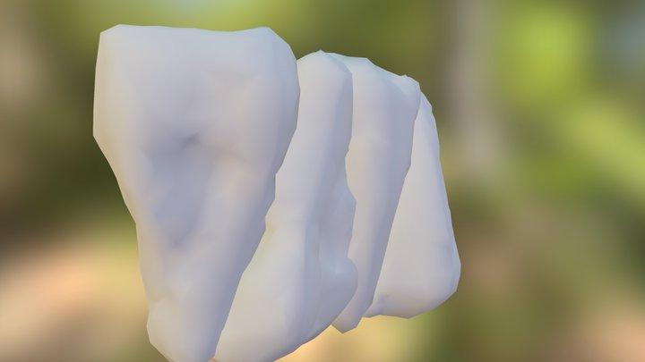 Edengrad Stone Wall 3D Model