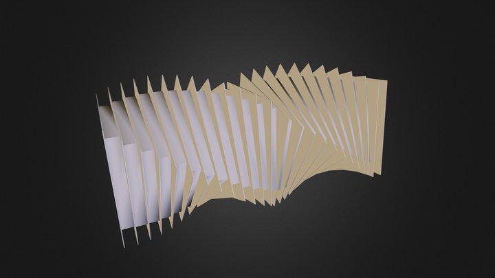Ballet Bridge 3D Model