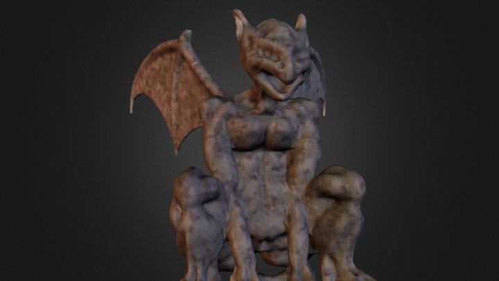 Gargoyl 3D Model