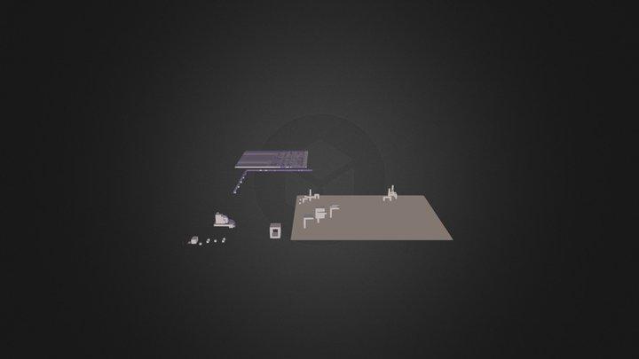 Cube_God-research.dae 3D Model