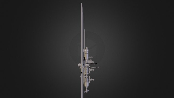 isscombined.3ds 3D Model