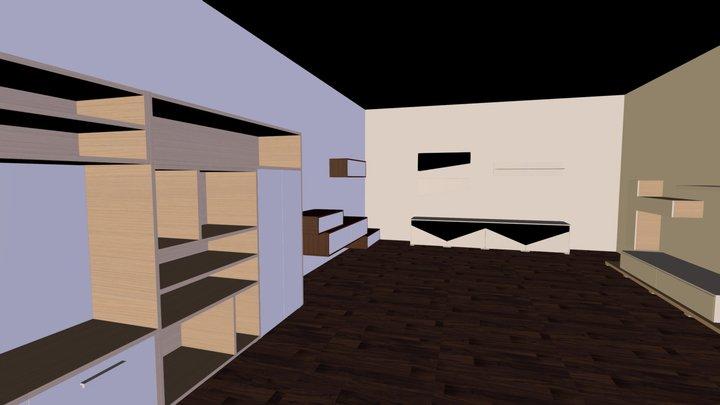 interijer 3D Model