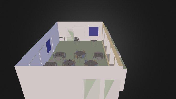Seminarraum 3D Model