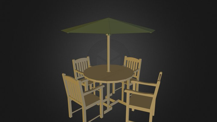 Restraunt table 3D Model