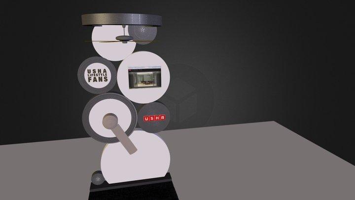 Usha 3D Model
