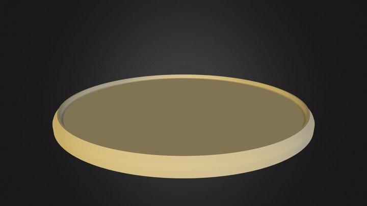 Medal.3ds 3D Model