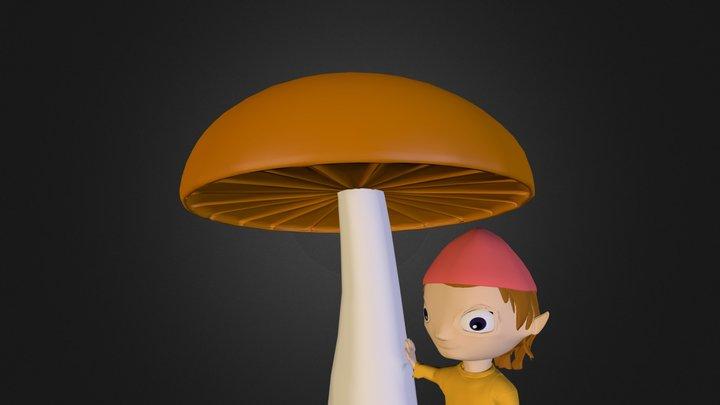 kropka 3D Model