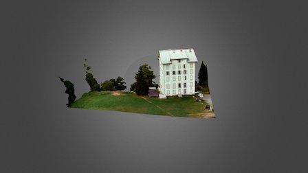 1 Mega Pixel Drone Shot taken 3D Model