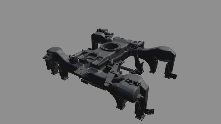 Bogie Modelling 3D Model