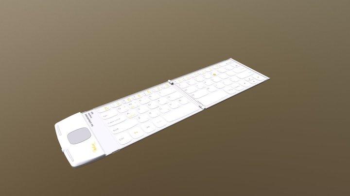Pocket Keyboard 3D Model